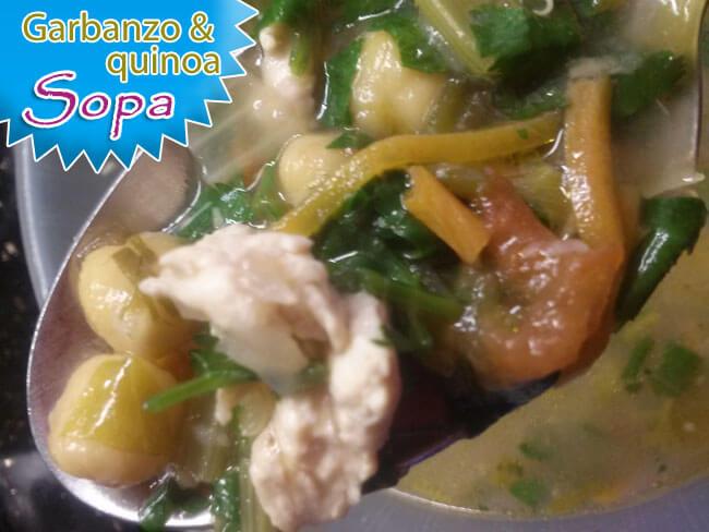 Sopa-de-Garbanzo-con-Quinoa-5 Sopa De Garbanzo Con Quínoa | Recetas De Sopas Caseras