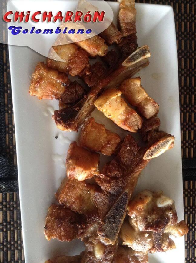 Chicharrón de Cerdo Colombiano | Chicharrón Frito