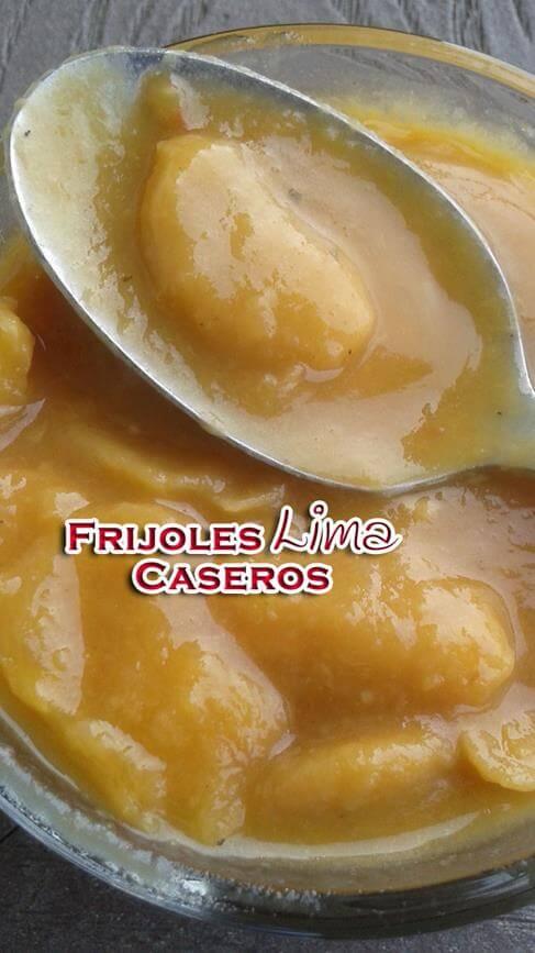 Frijoles-Lima-Caseros-3 Frijoles Lima Caseros Faciles | Desde Que Cocinar