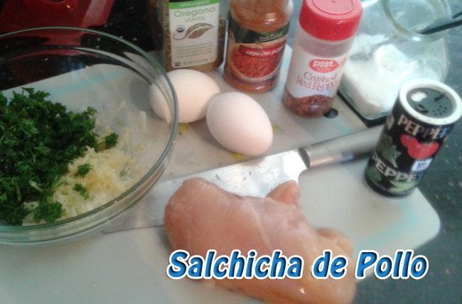 Salchicha-de-pollo-13 Salchicha de Pollo Casera   Que Cocinar con Pollo