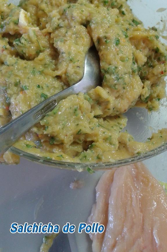 Salchicha-de-pollo-5 Salchicha de Pollo Casera | Que Cocinar con Pollo