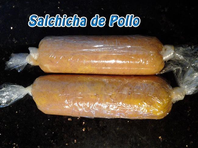 Salchichas-de-Pollo-1 Salchicha de Pollo Casera   Que Cocinar con Pollo