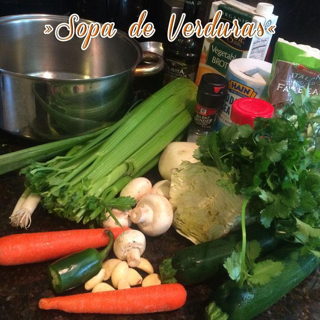 Sopa-De-Verduras-1 Sopa De Verduras Fácil Y Deliciosa | Sopa Saludable
