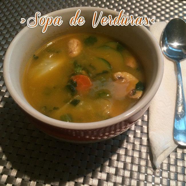 Sopa-De-Verduras-2 Sopa De Verduras Fácil Y Deliciosa | Sopa Saludable