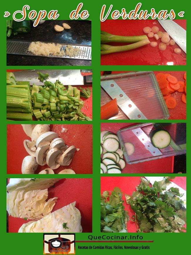 Sopa De Verduras Fácil Y Deliciosa | Sopa Saludable