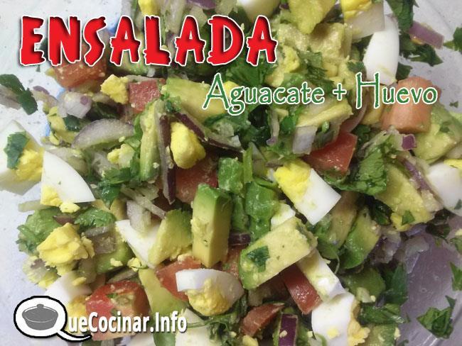 Ensalada-de-Aguacate-y-huevo-4 Ensalada De Aguacate Y Huevo | Que Cocinar Hoy