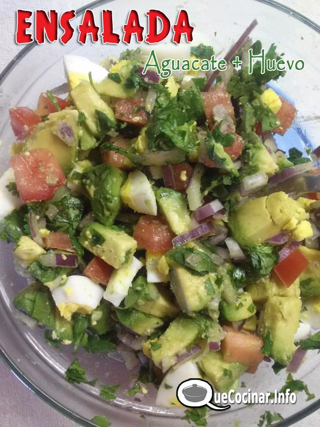 Ensalada-de-Aguacate-y-huevo-6 Ensalada De Aguacate Y Huevo | Que Cocinar Hoy