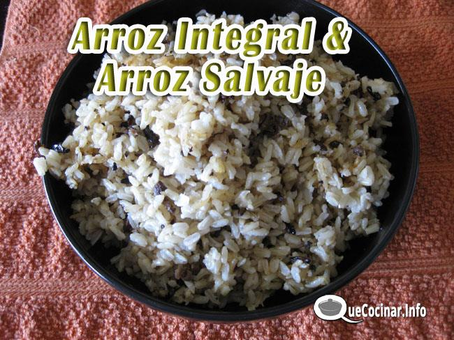 arroz-Integral-y-arroz-salvaje-1 Arroz Integral y Arroz Salvaje | Como Cocinar Arroz