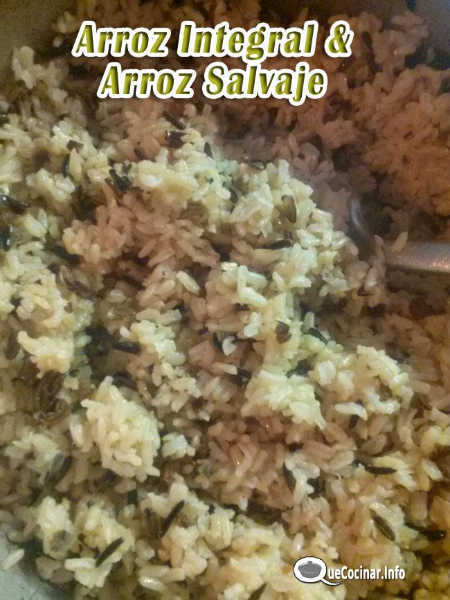 Arroz integral y arroz salvaje como cocinar arroz negro for Como cocinar arroz