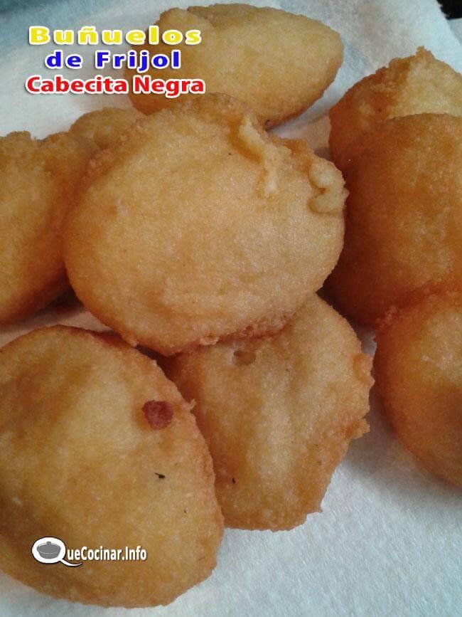 Receta de Buñuelos de Frijol de Cabecita Negra