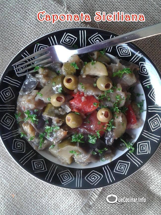 caponata-siciliana-9 Desde Que Cocinar Feliz 2016 | Recetas Mas Visitadas en 2015