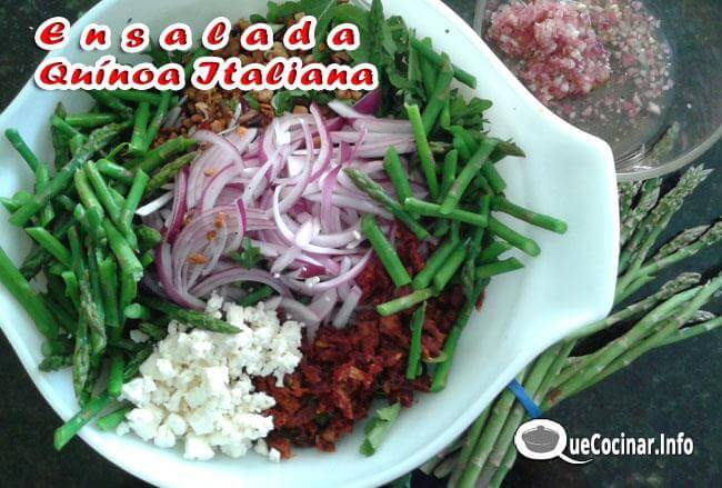 ensalada-de-qu%C3%ADnoa-italiana-6 Ensalada de Quínoa Italiana | Receta Con Ensalada