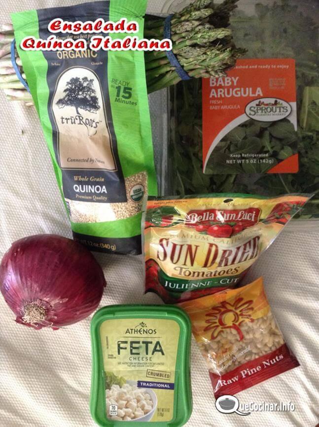 ensalada-de-quinoa-italiana Ensalada de Quínoa Italiana | Receta Con Ensalada