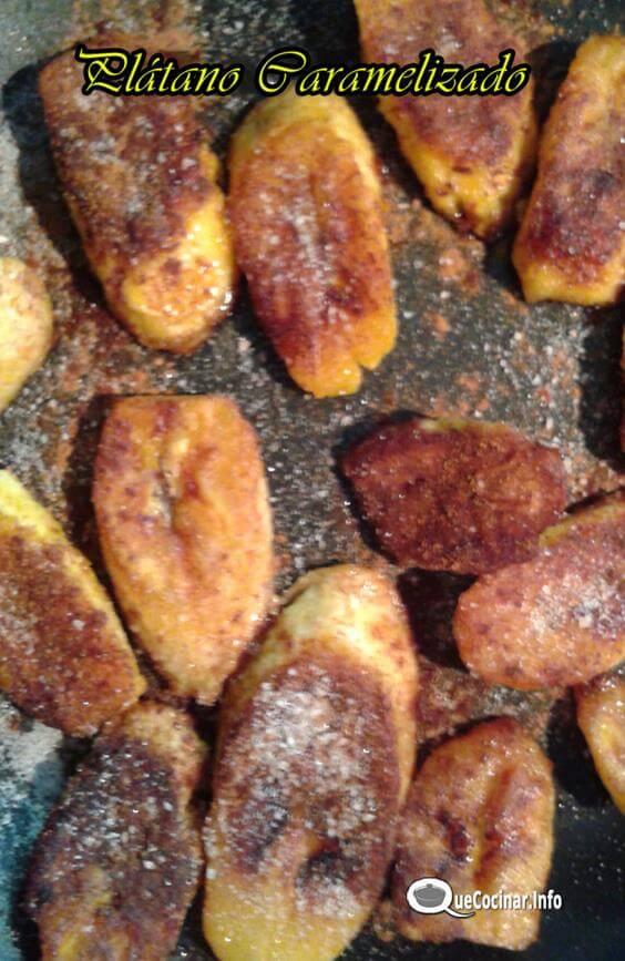 Plátano Caramelizado con Canela | Recetas Colombianas