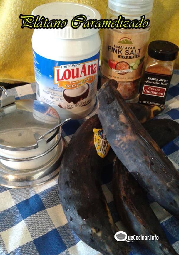 platano-caramelizado-5 Plátano Caramelizado con Canela | Recetas Colombianas