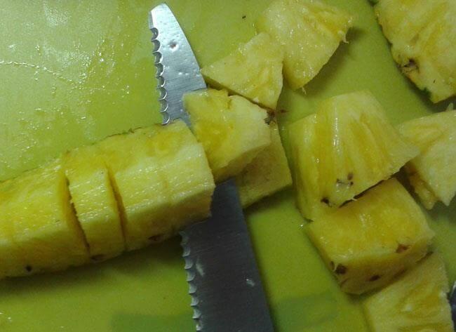 cortar-la-piña-13 Cómo Partir La Piña | Pasos Con Fotos Para Cortar Piña