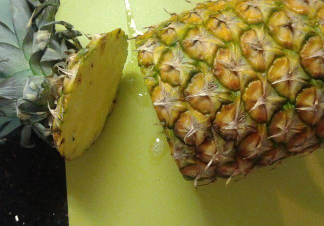 cortar-la-piña-3 Cómo Partir La Piña | Pasos Con Fotos Para Cortar Piña