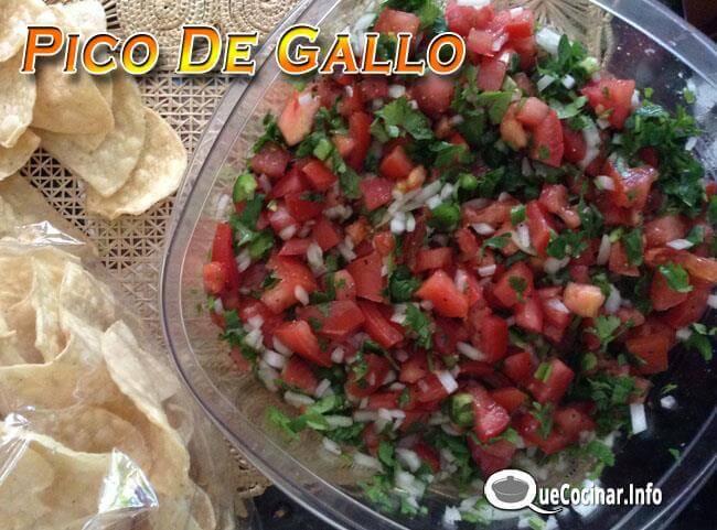 pico-de-gallo-1 Pico De Gallo | Salsa Típica de la Cocina Mexicana