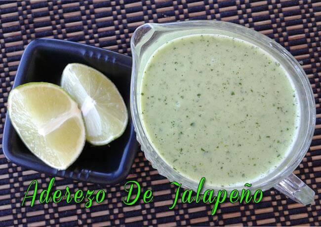 aderezo-de-jalapeno-3 Aderezo De Jalapeño | Salsas Para Ensaladas