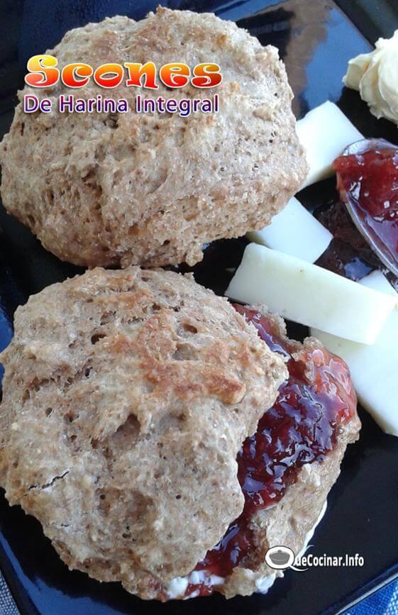 Scones De Harina Integral Sin Grasa | Que Cocinar