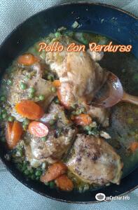 Pollo Con Verduras Delicioso  Recetas Con Pollo
