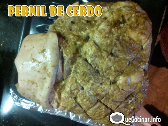 Pernil-de-Cerdo-2014-12 Pernil De Cerdo AL Horno | Comida Colombiana