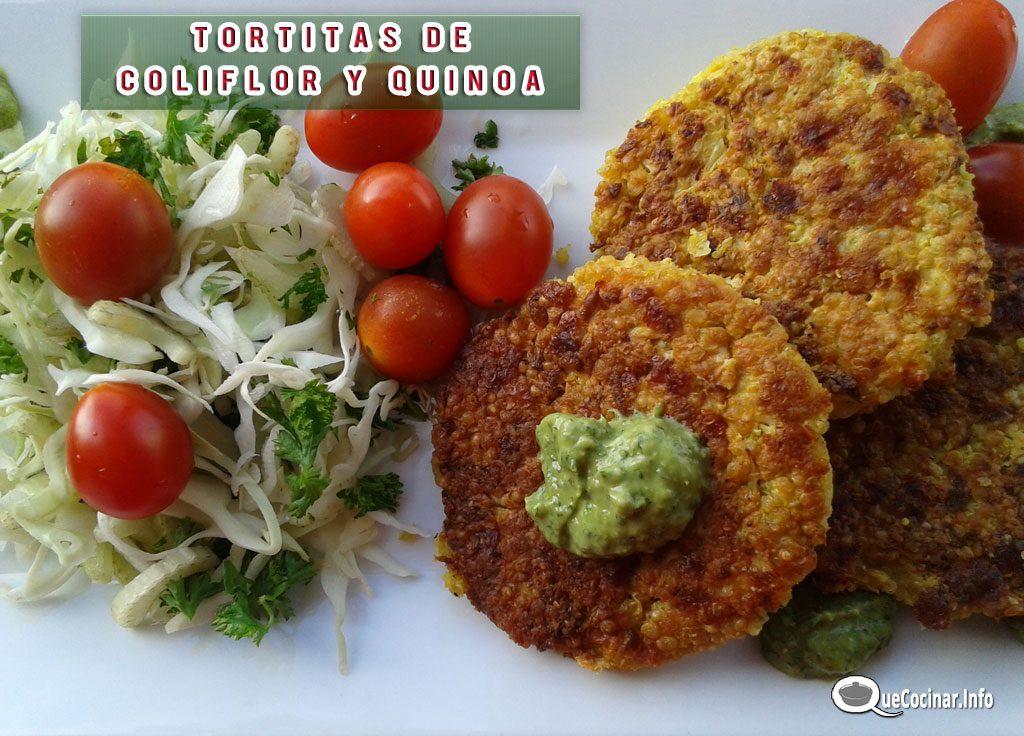 tortitas-de-coliflor-y-quinoa-2-1024x736 Tortitas de Coliflor y Quínoa | Que Cocinar