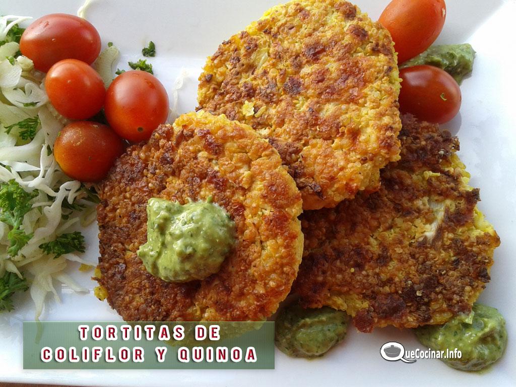Tortitas de Coliflor y Quínoa