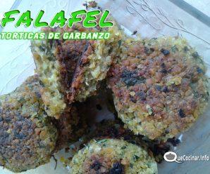 Falafel Clásico Vegano | Torticas de Garbanzo