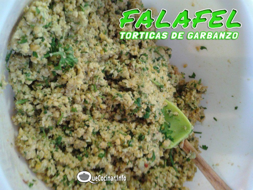 falafel-masa-1024x768 Falafel Clásico Vegano | Torticas de Garbanzo