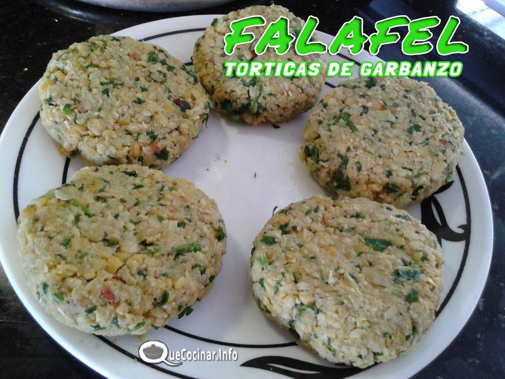 falafel-torticas-de-garbanz Falafel Clásico Vegano | Torticas de Garbanzo