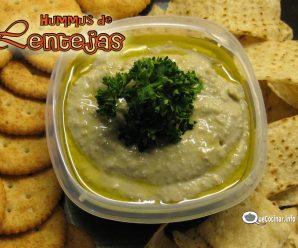 Hummus de Lentejas | Pate de Lentejas