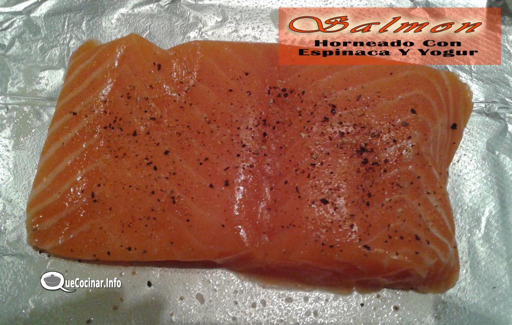 Salmon-horneado-con-espinaca-y-yogur-14 Salmon Horneado Con Espinaca Y Yogur