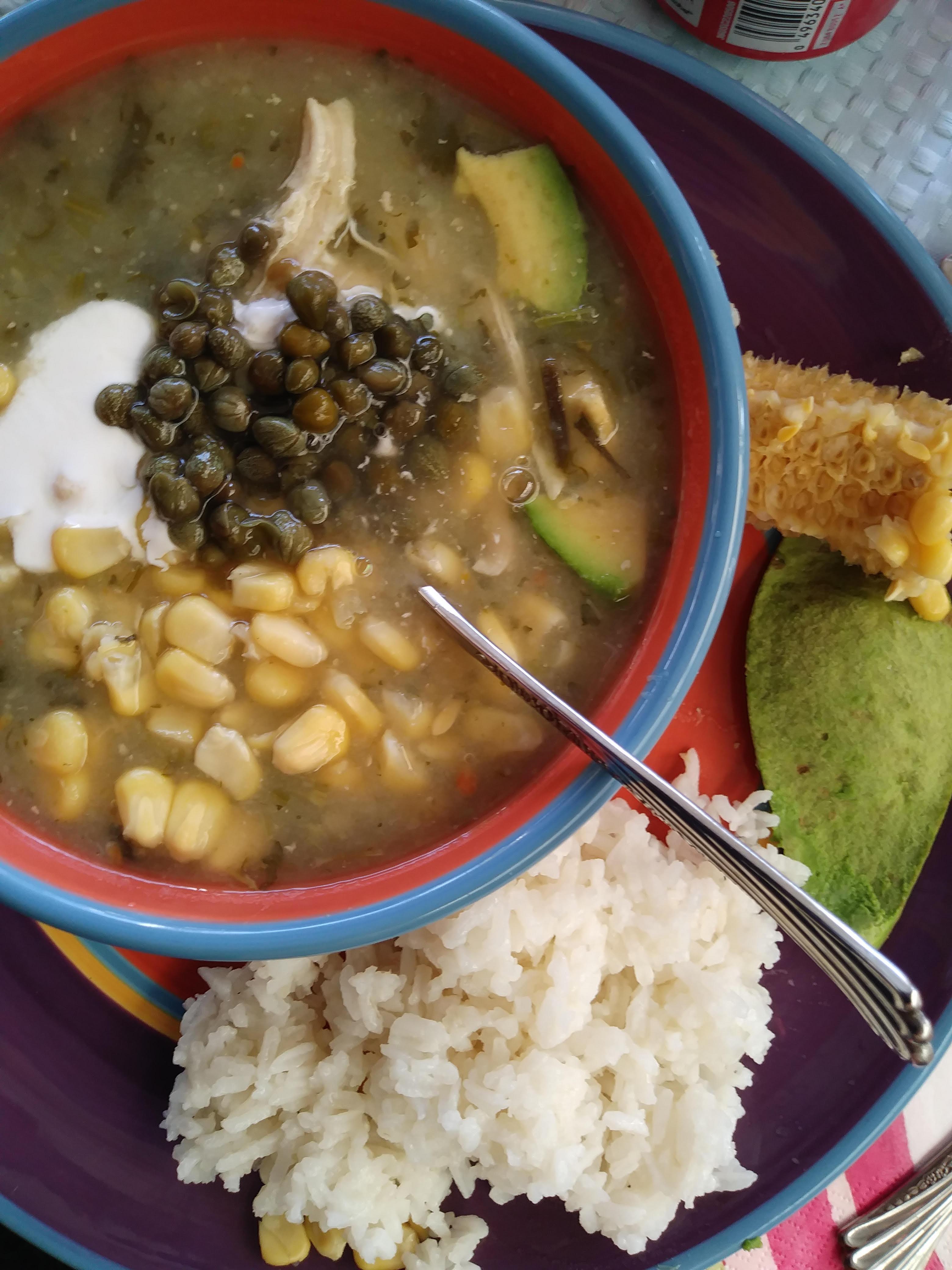 Ajiaco con Pollo - Colombia