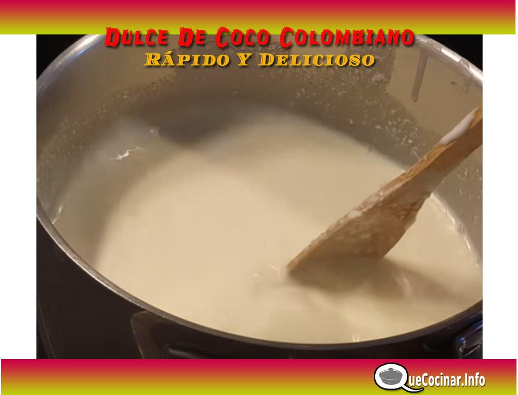 Dulce-de-coco-paso-a-paso-copy Dulce De Coco Colombiano Rápido Y Delicioso