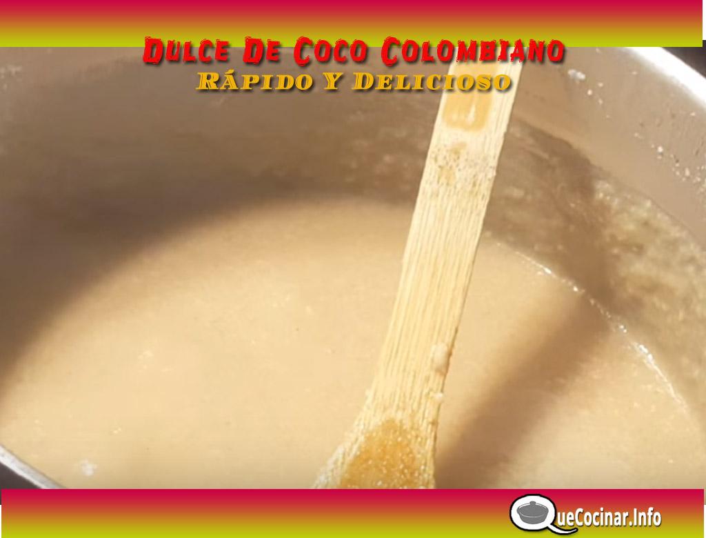 Dulce-de-coco-paso-a-paso-listo Dulce De Coco Colombiano Rápido Y Delicioso