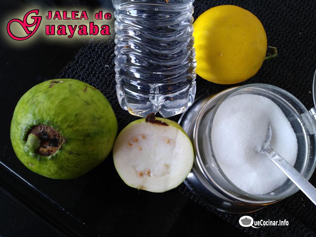 Jalea-de-Guayaba-ingredientes Jalea de Guayaba Receta | Espejuelo de Guayaba Colombia