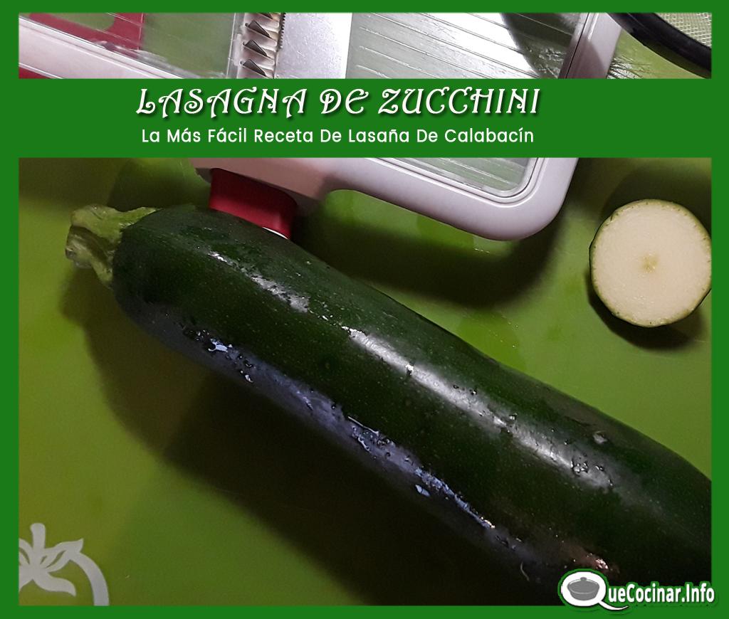 Lasagna-de-Zucchini-mandolin LASAÑA DE ZUCCHINI | La Más Fácil Receta De Lasaña De Calabacín