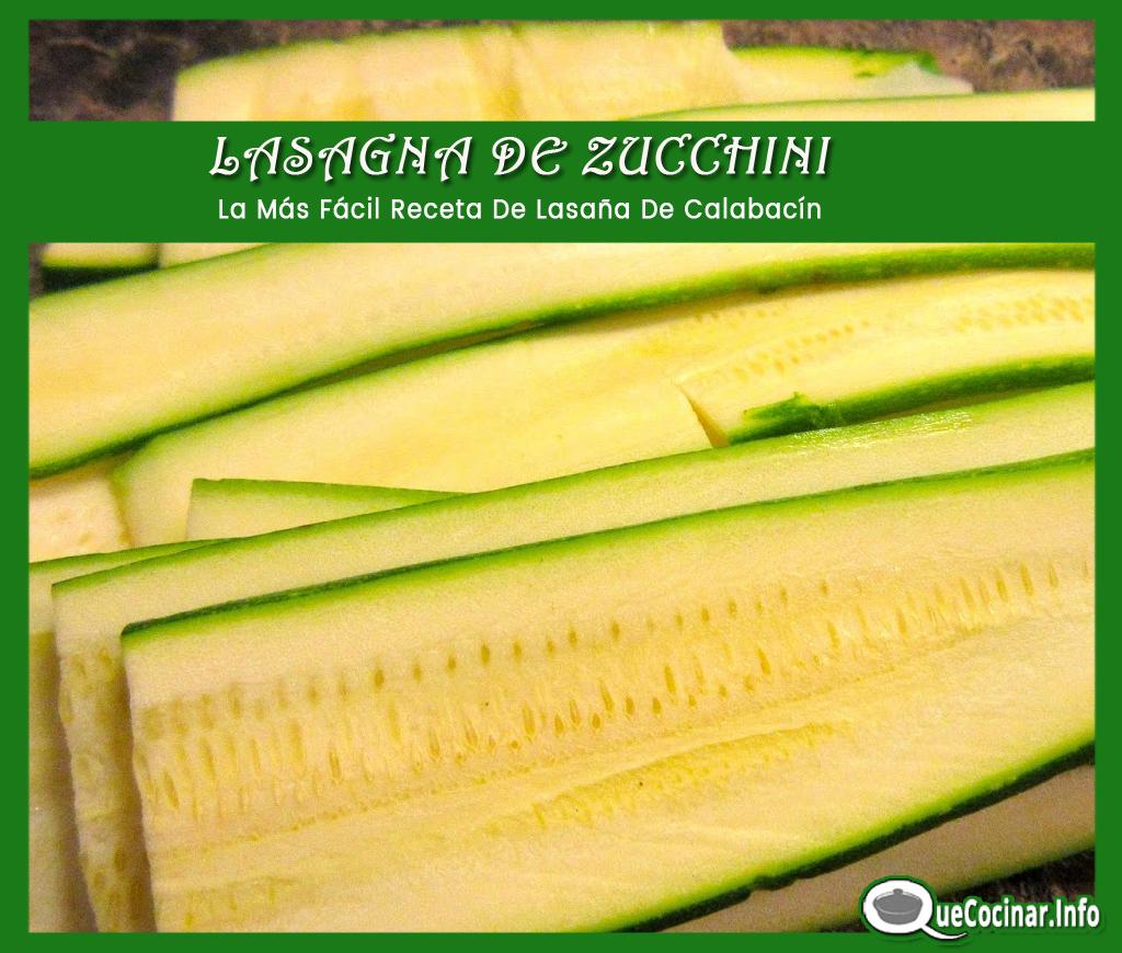 Lasana-de-Zucchini-cortada-mandolin LASAÑA DE ZUCCHINI | La Más Fácil Receta De Lasaña De Calabacín
