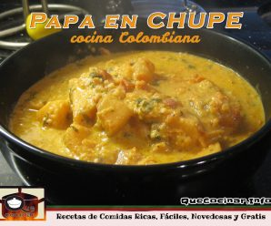 Papa en Chupe | Receta Colombiana