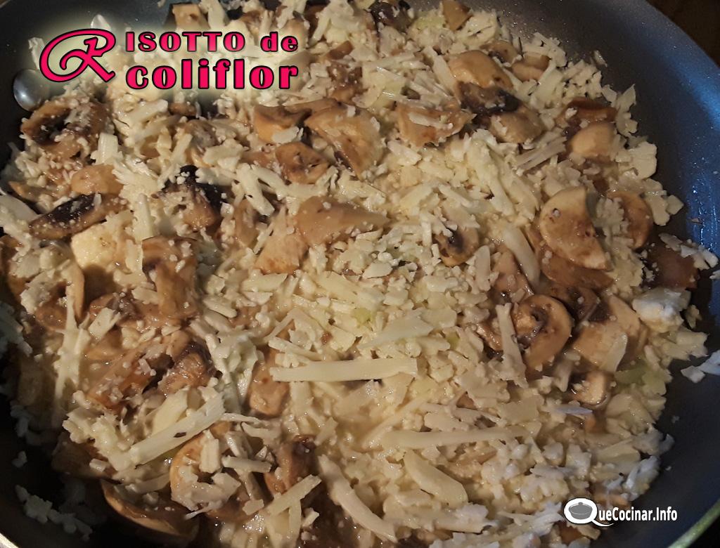 Risotto-De-Coliflor-2 Risotto De Coliflor Con Champiñones Keto