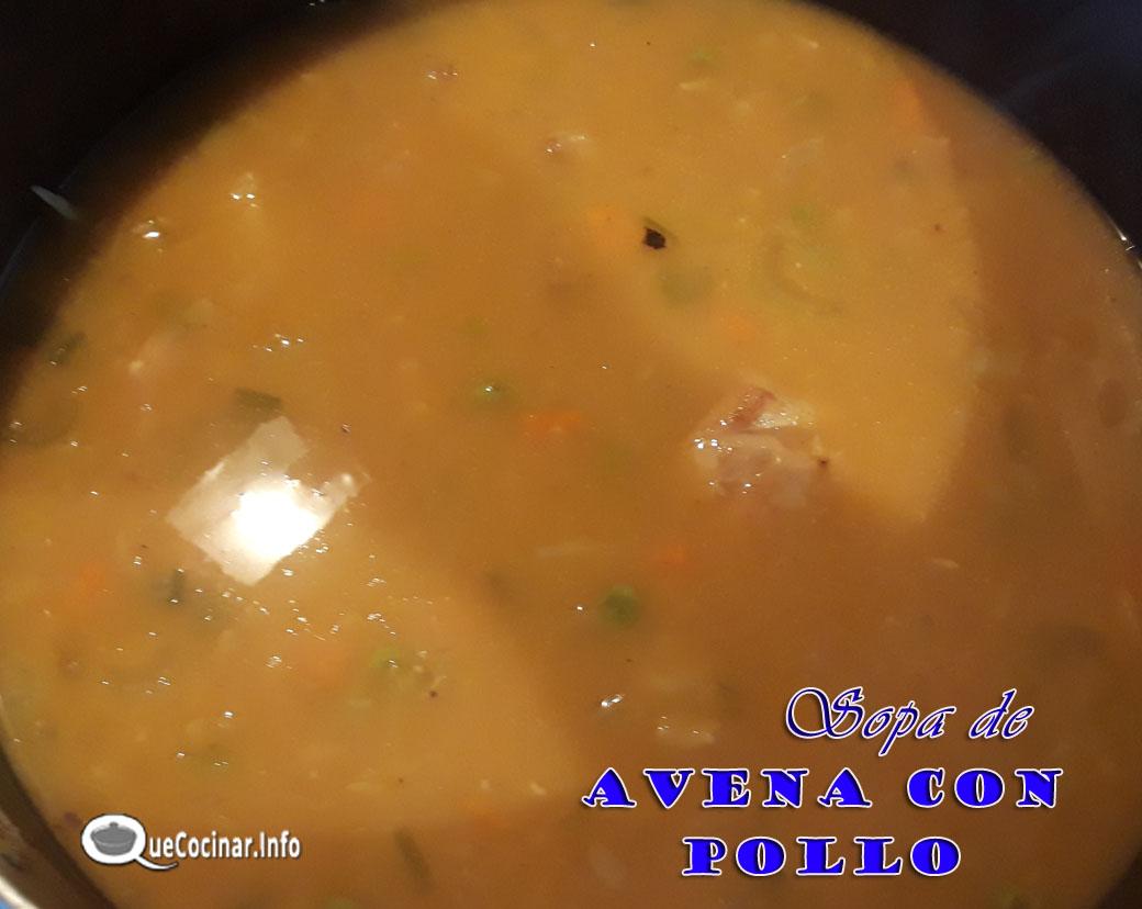 Sopa-De-Avena-Con-Pollo-2 Sopa De Avena Con Pollo | Receta Colombiana