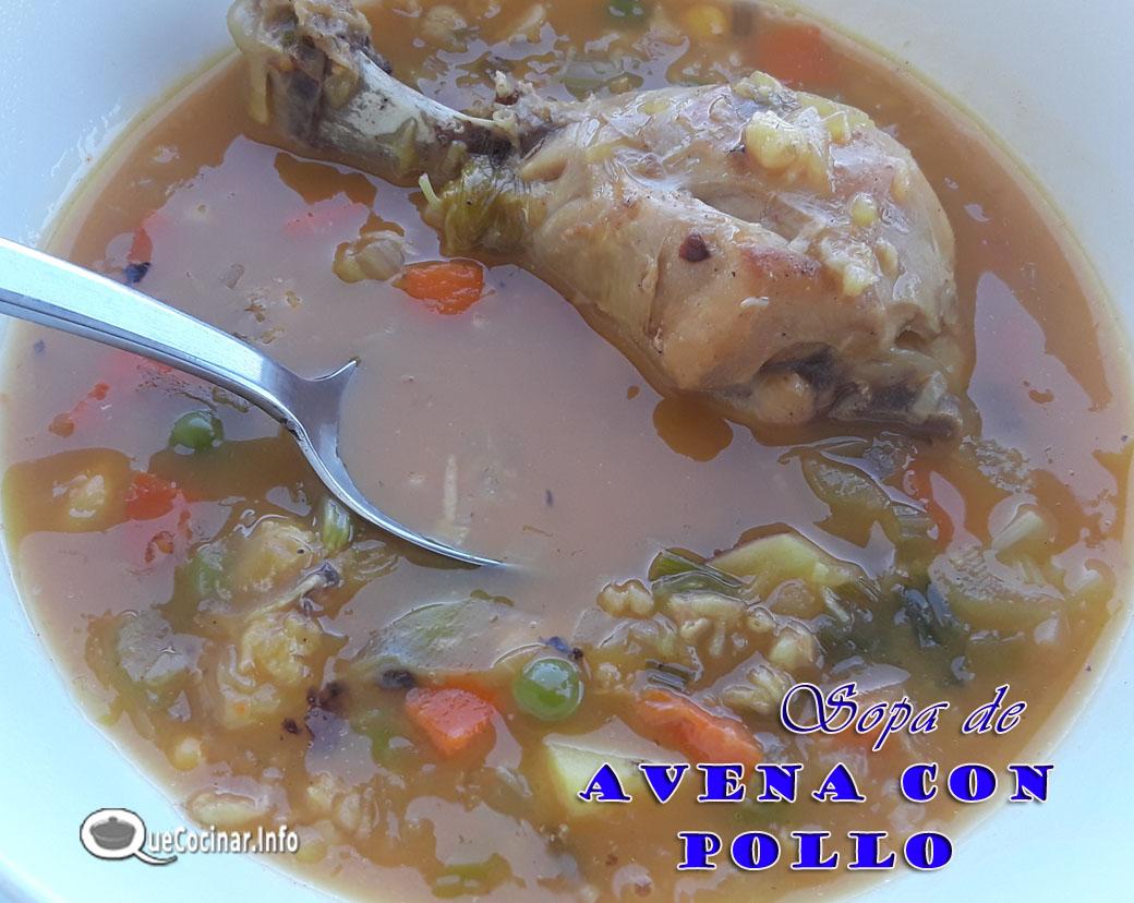 Sopa-De-Avena-Con-Pollo Sopa De Avena Con Pollo | Receta Colombiana