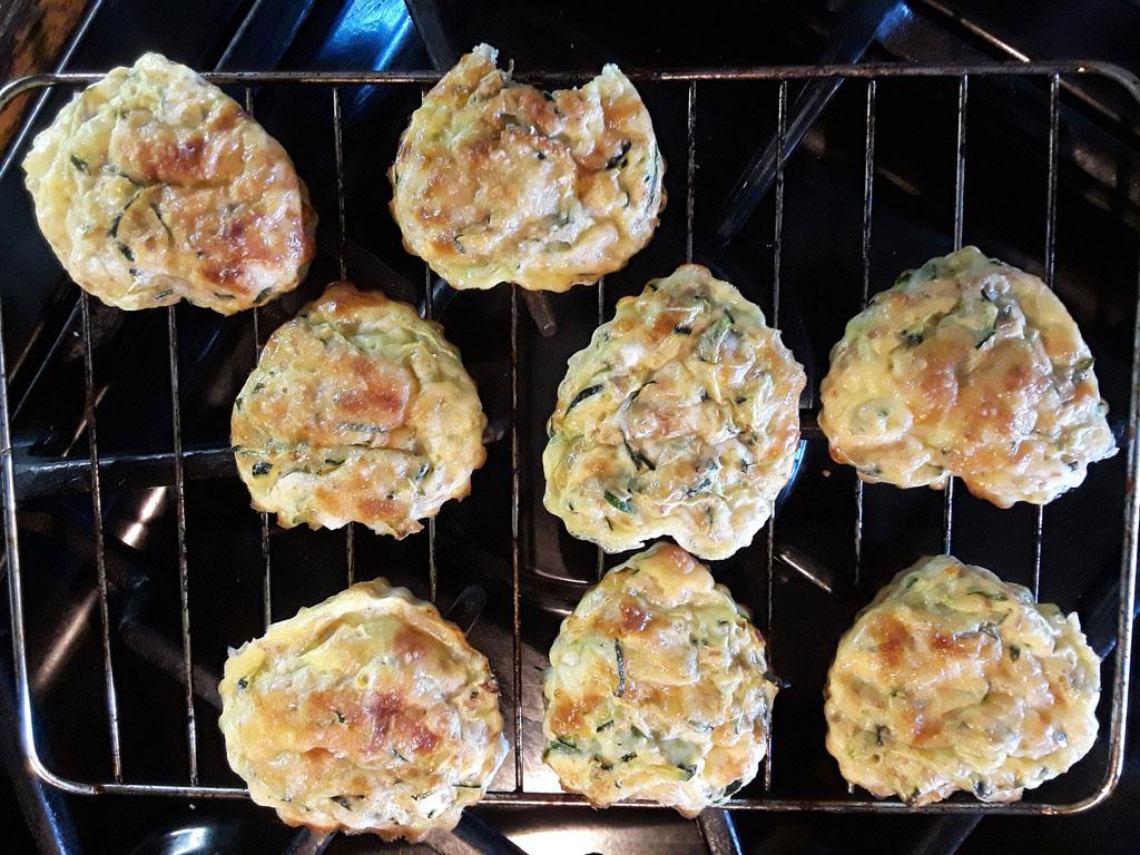Tortilla-de-Zucchine-al-Horno-enfriando Tortilla de Zucchini al Horno   Que Cocinar
