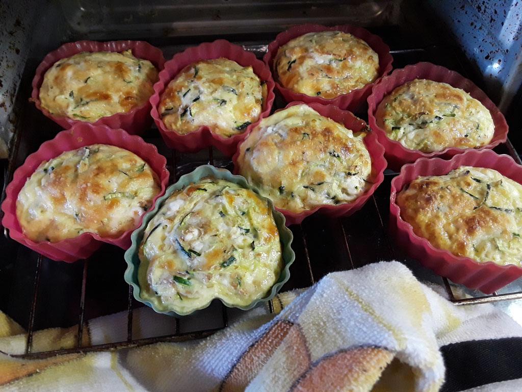 Tortilla-de-Zucchine-al-Horno-saliendo-horno Tortilla de Zucchini al Horno   Que Cocinar