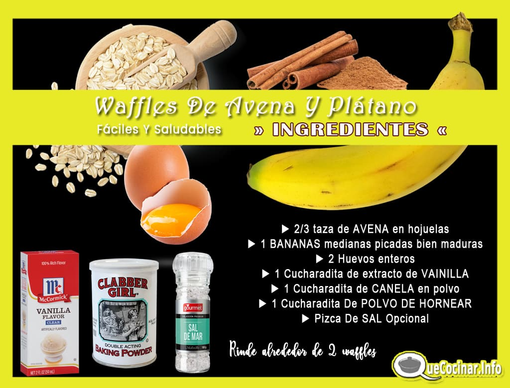 Waffles-De-Avena-Y-Platano-copy Waffles De Avena Y Plátano Fáciles Y Saludables