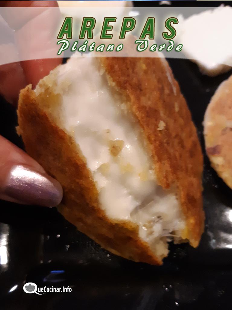 arepas-de-platano-verde-rellenas Arepas de Plátano Verde | Que Cocinar